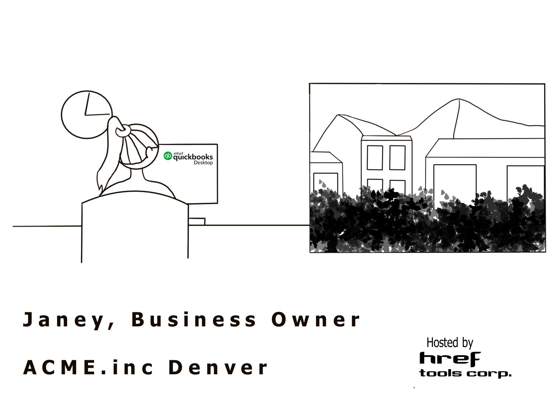 Janey working in Denver